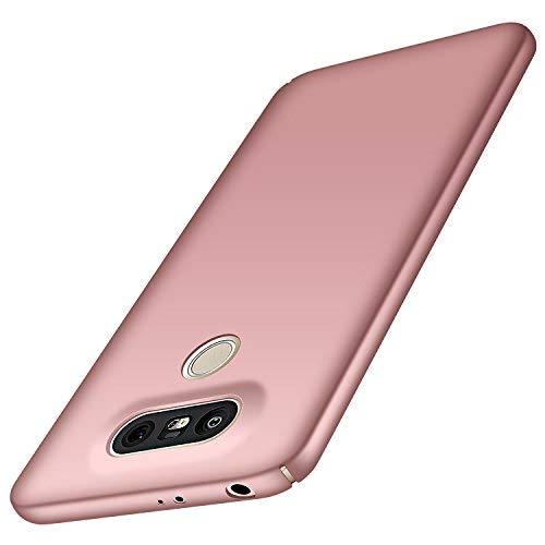 Anccer LG G5 Hülle, [Bunte Serie] [Ultra Dünn] Ultimative Schutz vor Stürzen und Stößen - [Luxurious Look] Schutzhülle für LG G5 Case, LG G5 Cover (Glattes Rosen-Gold)