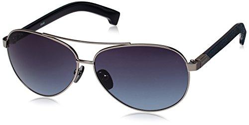 Fastrack Black Aviator Sunglasses (M134BK2) image