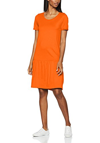 SELECTED FEMME Sfmy Perfect Ss New Dress, Vestito Donna Arancione (Mandarin Red)