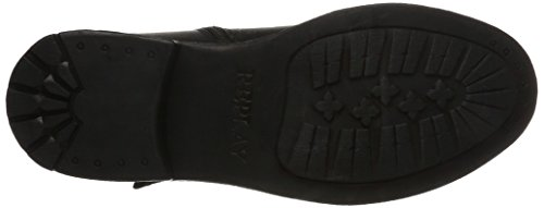 REPLAY hert, Stivali da Motociclista Uomo Nero (Black)