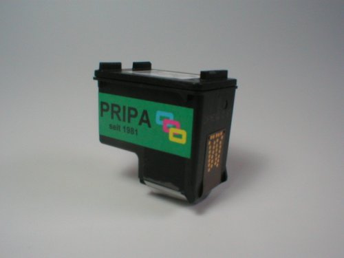pripa 1 kompatible remanufactured zu HP Patrone Cartrige Nr 27 - black...