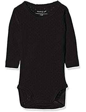 NAME IT Baby-Mädchen Strampler Nbfvitte Ls Body Noos