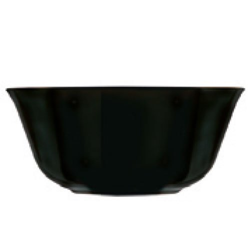 Luminarc Carine - Vidrio, Negro , 12 x 12 x 5 cm