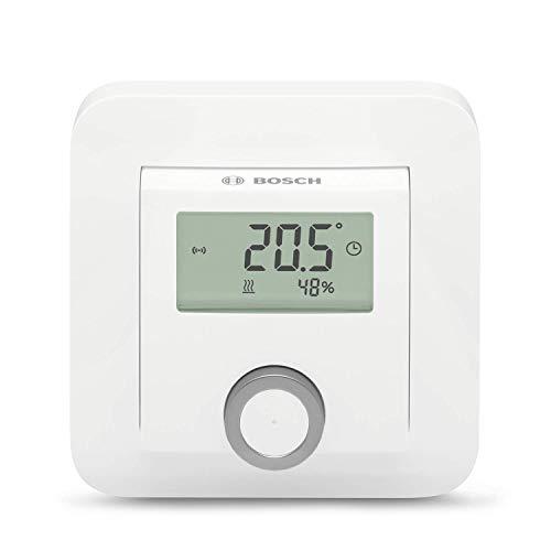 Bosch Smart Home Raumthermostat (für Fußbodenheizungen mit kabelgebundener Steuerung, 230 V, im Karton)