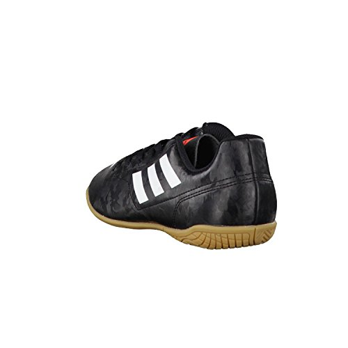 Adidas Conquisto Ii Indoor rouge, chaussures de football mixte core black/ftwr white/solar red