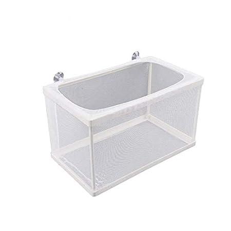 Saim Ablaichkasten,Laichkasten mit 4 Saugnäpfe,Aquarium laichbecken/aufzuchtbox/Aufzuchtbehälter,Babyfische Zuchtbecken…
