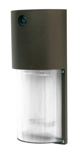 Designer Edge l-1772-26W-br Ecozone 26-watt fluoreszierend Dusk to Dawn Sicherheit Licht, Bronze -