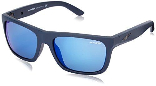 Arnette Herren Sonnenbrille 0AN4185 41/81, Schwarz (Black/Polargray), 58