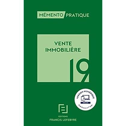 MEMENTO VENTE IMMOBILIERE 2019