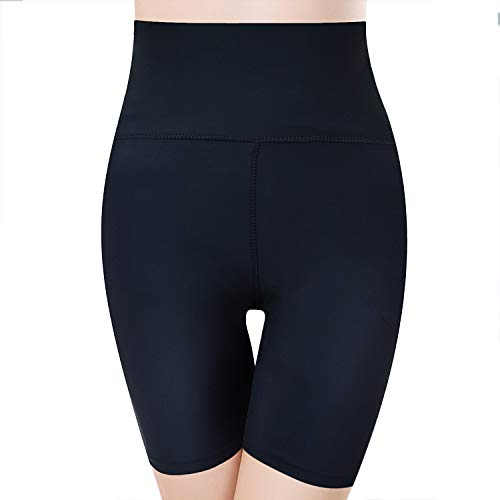 2810ec52c16 (Medium) - RIBIKA women Black Slimming Shorts High Waist Control Tummy  Compression Shaper Pants