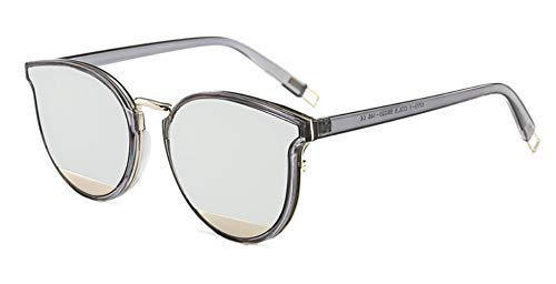 46010 Lady Cat Eye Sonnenbrille Pochromic Für Frauen Transparenter Rahmen Champagner Gläser Designer Fashion Weiblich