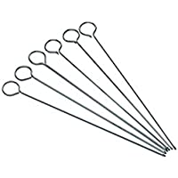 35.41x23.7x5.59 cm Easy Kabob Loader Charcoal Companion Skewer Express Silver