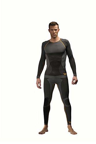 Preisvergleich Produktbild JCB Thermal Underwäsche, lange Unterhose, Größe XL, schwarz, JCB8015