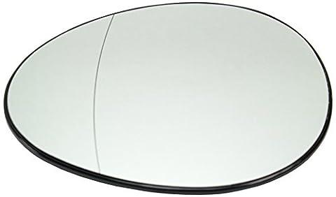 DoctorAuto DR166541 Miroir Glace Verre de Rétroviseur Extérieur Avec le Support en Plastique Gauche Chauffante