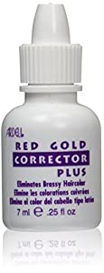 Ardell Hair Color Corrector, Red and Gold, 0.25 Ounce by Ardell