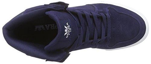Supra Vaider, Scarpe da Ginnastica Unisex – Adulto Blau (BLUE NIGHTS - WHITE BNT)
