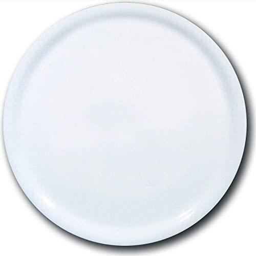 'fimel- Lot de 6 Assiettes à Pizza en Porcelaine Blanche, modellonapoli \