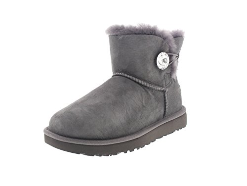 ugg-bottes-en-mouton-new-mini-bailey-button-bling-ii-grey-41