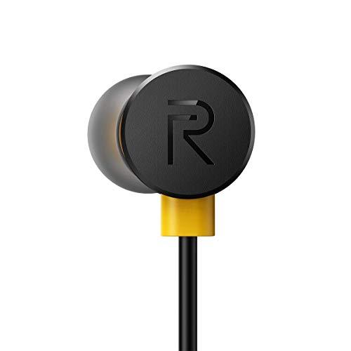 (Renewed) Realme Earbuds with Mic (Black) Image 7