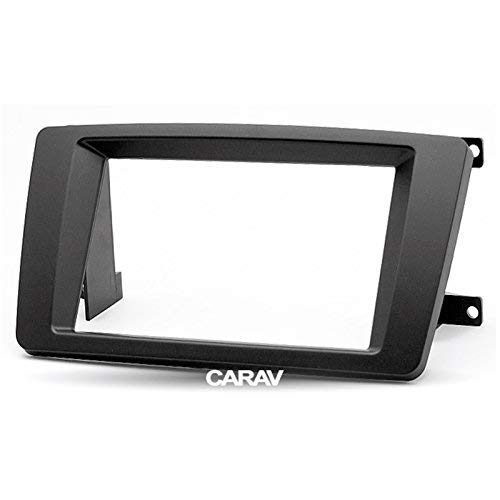 carav 09-004 Doppel DIN Radio Stereo-Adapter DVD Dash Installation umgeben Trim Kit Schacht Trim Faszie mit 173 * 98 mm Stereo Installation Kit
