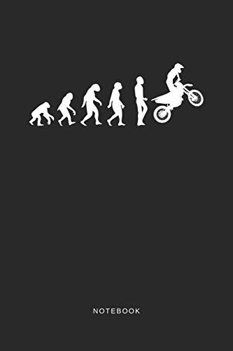 Notebook: A5 Blanko Notizbuch und Taschenbuch für Freunde oder Familie • Ein lustiges Geschenk für jeden Biker und Motorradfahrer - Geschwindigkeit, Notebook