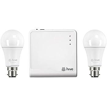 Hive Active Light Starter Kit Works with Alexa Includes Hive Hub and 2 x  sc 1 st  Amazon UK & Hive Active Light Starter Kit Works with Alexa Includes Hive Hub ... azcodes.com