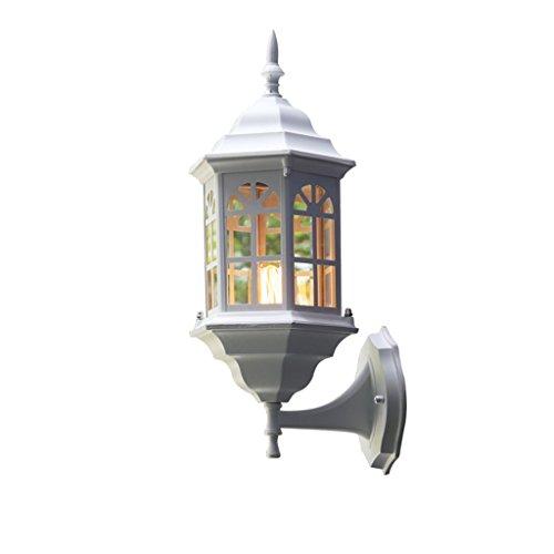 CHENGYI Applique Murale, Balcon Nordique Imperméable À L'eau Applique Rétro Extérieurs Extérieurs Jardin Créatif Lumière