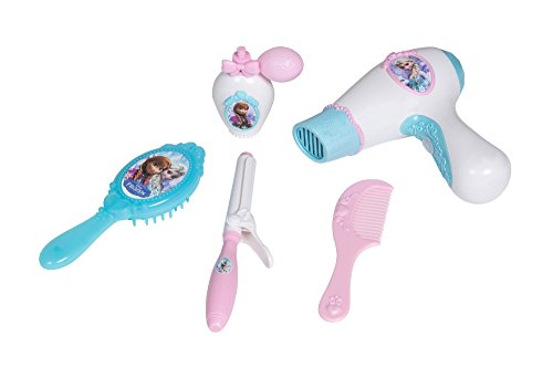 Smoby- Disney Frozen Set Accessori per Capelli, 7600320106
