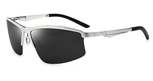 Saino Fahrradbrille Unisex John Lennon Glasses Klassisch Rechteckig Brillen Metalllegierung Outdoor-Brille Anti-Strahlung Square Piloten Brille