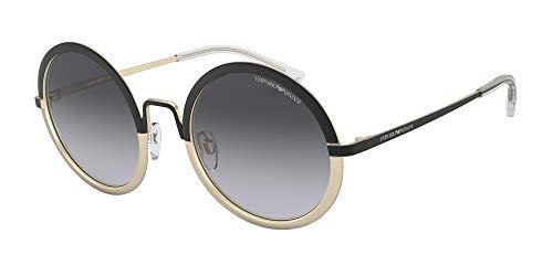 Ray-Ban Damen 0EA2077 Sonnenbrille, Blau Black/Matte Pale Gold, 52