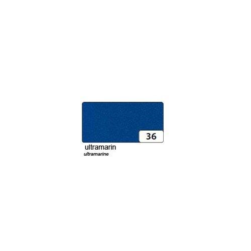 1 Bogen blau - formstabil: ca. 3,5 mm stark - Folia 510536 (Blau Bögen)