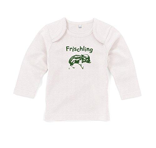 Baby Langarm T-Shirt Eidos Frischling - hellbeige 12-18 Monate