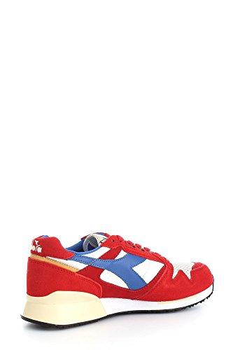 Diadora  170945 C6642, Baskets pour homme Pompeian Red/Nautical Blue