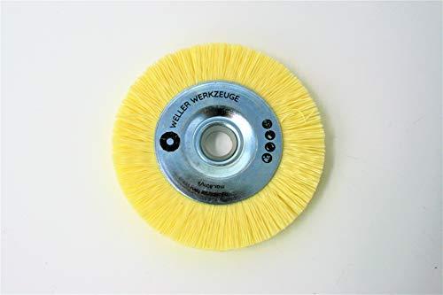Nylonbürste fein Bürste Reinigungsscheibe passend für Bosch GWS 10,8 12V 76 Zubehör Stahl Edelstahl Holz Würth Berner BTI