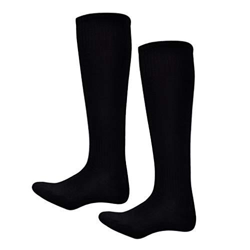 Zerama Kinder Junge Lange Socken saugen Schweiß über Knie Baumwolle Polyester Thin Fußballsocken Freie Größe -