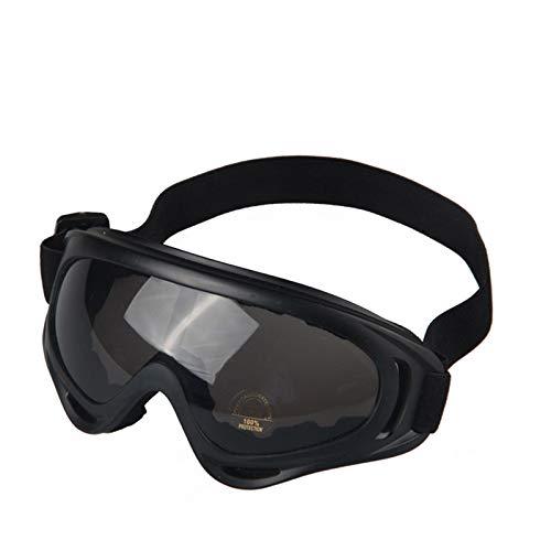 Lafeil Sportsonnenbrille Damen Damen Herren Motorradbrillen Outdoor Reitbrillen Langlaufbrillen Skibrillen Schwarz Grau