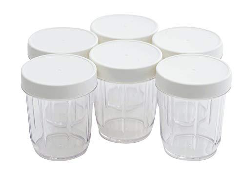 Cuisinart YM350PJE für Joghurtbereiter Ym350E (6 x 250 ml)