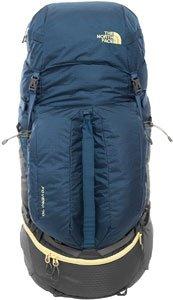 The North Face Fovero 70 - Outdoor Trekking-Rucksack Monterey Blue/Goldfinch Yellow