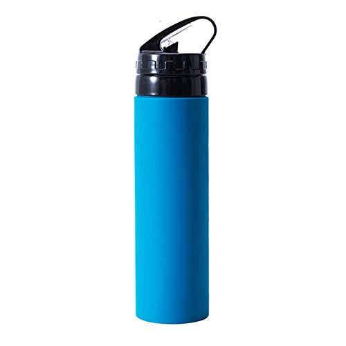 600 Ml Sport-Wasserbecher, Zusammenklappbare Weichwasserflasche Im Freien, Tragbares Anti-Fall-Fitness-GeräT FüR Silikon-Wasserbecher - Fitness-geräte Im Freien,
