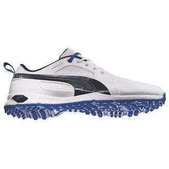 Puma Golf pour homme 2015biofly Chaussures de golf sans crampon imperméable 187583, Blanc/noir/bleu