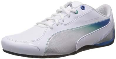 Puma Men's Drift Cat 5 MAMGP NM White Leather Sneakers - 8.5UK/India (42.5EU)