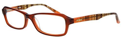 Guess Damen Brillengestell Braun GU2458-AMB-54