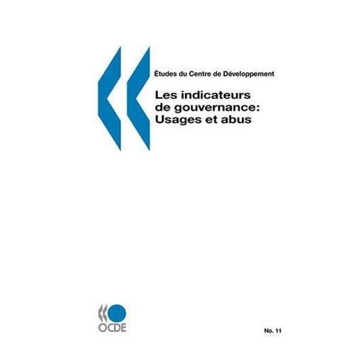 Les indicateurs de gouvernance : Usages et abus