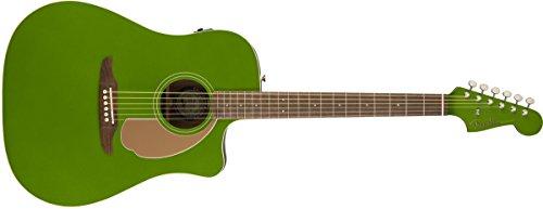 Fender Redondo Player - Guitarra electroacústica, acabado en jade eléctrico