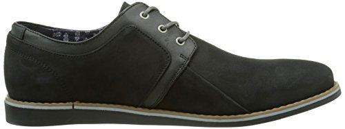 Schmoove Analog, Chaussures Lacées Homme Noir (Crust Black/Black)