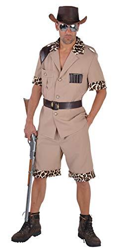 M212213-S hell-braun Herren Safari Anzug Rancher Kostüm Gr.S