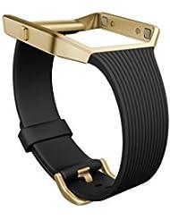 Fitbit Blaze Slim Classic Accessory Band, schwarz, Small