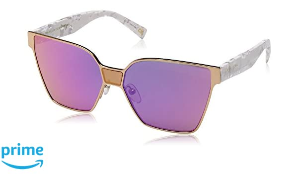 Marc Jacobs Damen Sonnenbrille Marc 212/S VQ Rhl, Gold (Gold Black/Pink Multilayer), 60