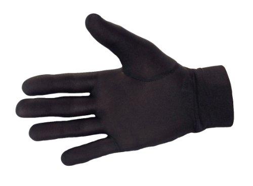 Therma glove - guanti termici 100% pura seta per ciclismo, sci, dog sitting, giardinaggio e attività all'aperto, compatibili con smartphone