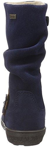 Richter Kinderschuhe Rosy, Bottes et bottines à doublure chaude fille Bleu - Blau (atlantic/Taupe 7201)